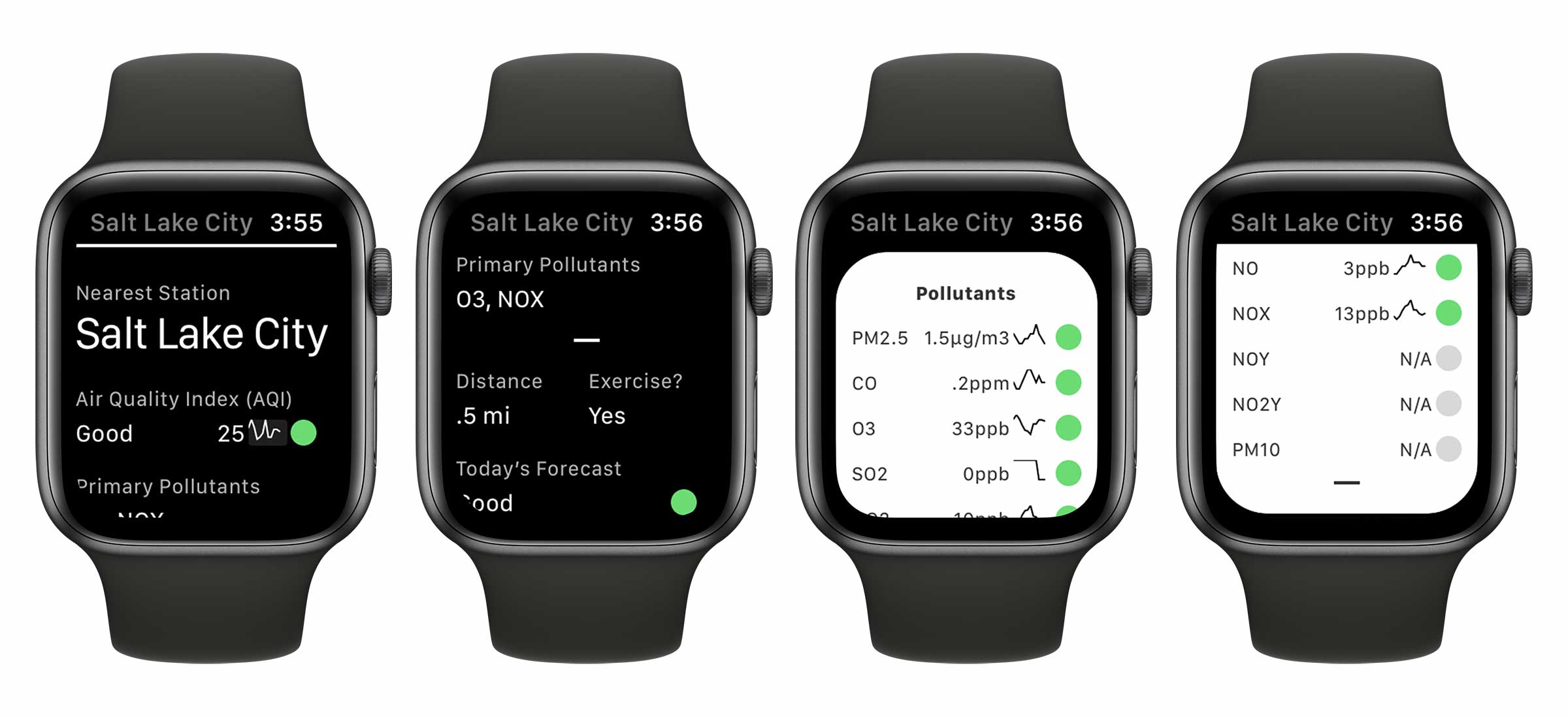Air Lookout WatchOS App
